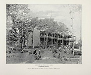 """McGregor Hotel from The American Civil War book and Grant album : """"art immortelles"""" : a portfolio of half-tone reproductions from rare and costly photographs designed to perpetuate the memory of General Ulysses S. Grant, depicting scenes and incidents in connection with the Civil War Published  in Boston and New York by W. H. Allen in 1894"""