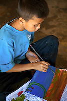 Cambodian Childrens Painting Project,