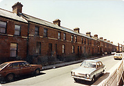 Old amateur photos of Dublin streets churches, cars, lanes, roads, shops schools, hospitals, Streetscape views are hard to come by while the quality is not always the best in this collection they do capture Dublin streets not often available and have seen a lot of change since photos were taken Fitzroy Avenue North Wall, June 1986