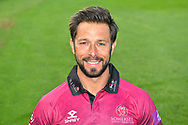 Head shot of Peter Trego in the Royal London One-Day Cup kit during the 2019 media day at Somerset County Cricket Club at the Cooper Associates County Ground, Taunton, United Kingdom on 2 April 2019