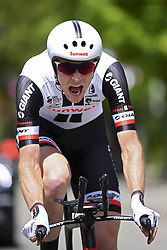 June 7, 2017 - Bourgoin Jallieu, France - BOURGOIN-JALLIEU, FRANCE - JUNE 7 : HAGA Chad (USA) Rider of Team Sunweb during stage 4 of the 69th edition of the Criterium du Dauphine Libere cycling race, an individual time trail of 23,5 kms between La Tour-du-Pin and Bourgoin-Jallieu on June 07, 2017 in Bourgoin-Jallieu, France, 7/06/2017 (Credit Image: © Panoramic via ZUMA Press)