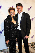 """Leslie Uggams and Brian Stokes-Mitchell at The American Theater Wing's Annual Spring Gala Honoring Jerry Herman and Visa INC...The American Theatre Wing is best known as the creator of the Antoinette Perry """"Tony"""" Awards, which it presents annually with the Brodway League. The Wing's other activities, dedicated to recognizing excellence and supporting eductaion in theatre."""