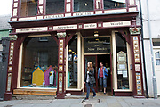 "Richard Booth bookshop in Hay-on-Wye or Y Gelli Gandryll in Welsh, known as ""the town of books"", is a small town in Powys, Wales famous for it's many second hand and specialist bookshops, although the number has declined sharply in recent years, many becoming general antique shops and similar."