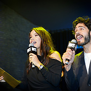 NLD/Amsterdam/20181029 - MTV pre party 2018, Monica Geuze en Kay Nambiar