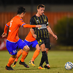 BRISBANE, AUSTRALIA - SEPTEMBER 2:  during the NPL Senior Men's Semi Final match between Lions FC and Moreton Bay Jets on September 2, 2018 in Brisbane, Australia. (Photo by Olympic FC / Patrick Kearney)