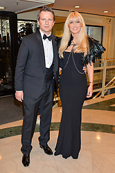 EMMA NOBLE and CONRAD BAKER at the 6th annual Asian Awards held at The Grosvenor House Hotel, Park Lane, London on 8th April 2016.