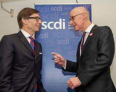 John Swinney and German Ambassador open SCDI annual forum, Edinburgh, 25 April 2019