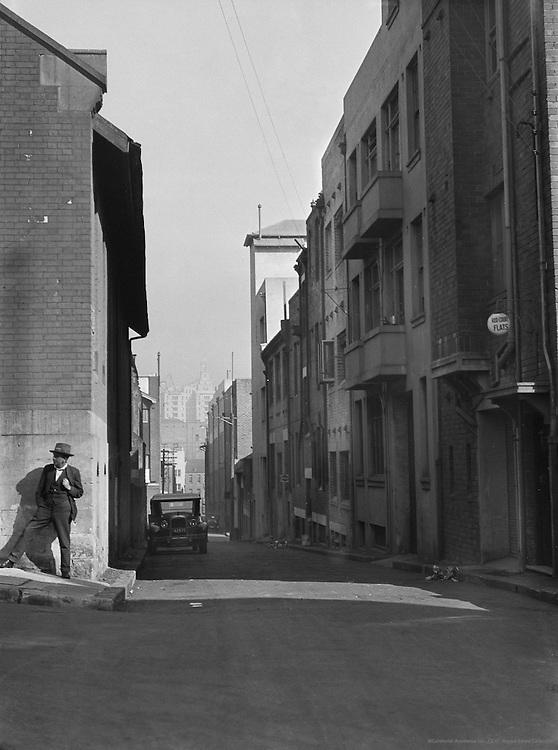 Woolloomooloo District, Sydney, Australia, 1930