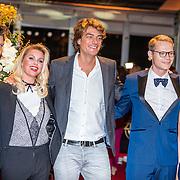 NLD/Amsterdam/20161013 - Televiziergala 2016, Beau van Erven Dorens, Brit Maasland en Frank Dane, Luuk Ikking en partner