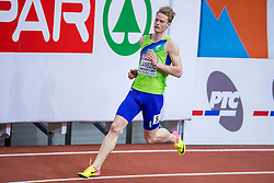 03-03-2017  SRB: European Athletics Championships indoor day 1, Belgrade<br /> In een lege Kombank Arena wordt de eerste dag van het Europees Kampioenschap gehouden / Luka Janezic SLO