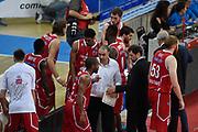 DESCRIZIONE : PesaroLega A 2015-16 <br />  Consultinvest Pesaro Giorgio Tesi Group Pistoia<br /> GIOCATORE : Vincenzo Esposito<br /> CATEGORIA : Allenatore Coach Time Out<br /> SQUADRA : Giorgio Tesi Group Pistoia<br /> EVENTO : Lega A 2015-16 Consultinvest Pesaro Giorgio Tesi Group Pistoia<br /> GARA : Consultinvest Pesaro Giorgio Tesi Group Pistoia<br /> DATA : 11/10/2015<br /> SPORT : Pallacanestro<br /> AUTORE : Agenzia Ciamillo-Castoria/GiulioCiamillo<br /> Galleria : Lega Basket A 2015-2016<br /> Fotonotizia : <br /> Predefinita :