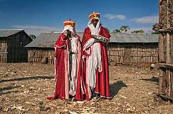 Addisu, 23, and Destaye, 11, are married in a traditional Ethiopian Orthodox wedding in the rural areas outside the city of Gondar.