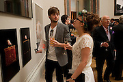 ABIGAIL BOOTH; DOUGLAS BOOTH, Royal Academy of Arts Summer Exhibition Preview Party 2011. Royal Academy. Piccadilly. London. 2 June <br /> <br />  , -DO NOT ARCHIVE-© Copyright Photograph by Dafydd Jones. 248 Clapham Rd. London SW9 0PZ. Tel 0207 820 0771. www.dafjones.com.