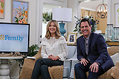 """Taping of the Hallmark Channel show """"Home & Family"""" in Universal Studio."""