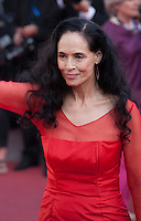Actress Sonia Braga at the gala screening for the film Elle at the 69th Cannes Film Festival, Saturday 21st May 2016, Cannes, France. Photography: Doreen Kennedy