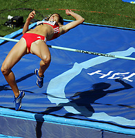 Friidrett, 6. august 2005, VM Helsinki, <br /> World Championship in Athletics<br /> Simone Oberer, SUI, heptathlon