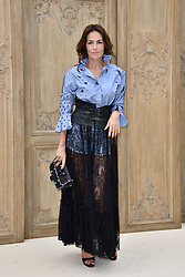 Adriana Abascal attending at the Valentino show as a part of Paris Fashion Week Ready to Wear Spring/Summer 2017 on October 02, 2016 in Paris, France. Photo by Alban Wyters/ABACAPRESS.COM