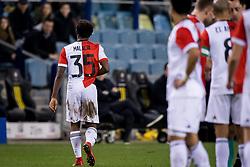 Tyrell Malacia of Feyenoord during the Dutch Eredivisie match between Vitesse Arnhem and Feyenoord Rotterdam at Gelredome on February 11, 2018 in Arnhem, The Netherlands