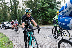 Drops Cycling making their debut on the cobbles of Le Samyn des Dames - Le Samyn des Dames 2016, a 113km road race from Quaregnon to Dour, on March 2, 2016 in Hainaut, Belgium.
