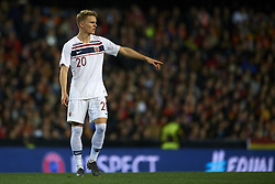 March 23, 2019 - Valencia, Valencia, Spain - Martin Odegaard of Norway during the 2020 UEFA European Championships group F qualifying match between Spain and Norway at Estadi de Mestalla on March 23, 2019 in Valencia, Spain. (Credit Image: © Jose Breton/NurPhoto via ZUMA Press)