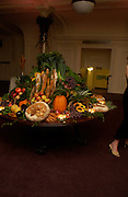 'Feast Food that celebrates Life' by Nigella Lawson- book launch. Cadogan Hall, Sloane Terace. 11 October 2004. ONE TIME USE ONLY - DO NOT ARCHIVE  © Copyright Photograph by Dafydd Jones 66 Stockwell Park Rd. London SW9 0DA Tel 020 7733 0108 www.dafjones.com