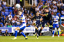 Craig Bryson of Derby County shoots at goal - Mandatory by-line: Robbie Stephenson/JMP - 03/08/2018 - FOOTBALL - Madejski Stadium - Reading, England - Reading v Derby County - Sky Bet Championship
