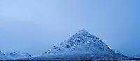 Buachaille Etive Mor in winter, Glencoe - Rannoch Moor, Scotland
