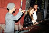 Elsa Pataki and Chris Hemsworth dinner in Madrid