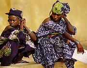 Girls at an event - UN Mission Podor Senegal