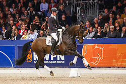 Van Silfhout Diederik (NED) - Don Tango B<br /> KWPN Stallion Selection - 's Hertogenbosch 2014<br /> © Dirk Caremans