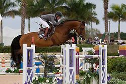 Michaels Beerbaum Meredith (GER) - Cantano<br /> Horseware GP CSI 2*<br /> Wellington 2012<br /> © Hippo Foto - Cealy Tetly