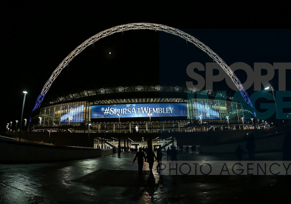 A general view of Wembley during the Champions League group match at Wembley Stadium, London. Picture date December 7th, 2016 Pic David Klein/Sportimage