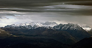October snow on the Prokletije mountains, along the border with Albania, viewed from Rumija, a mountain above Lake Skadar and Stari Bar, Montenegro. © Rudolf Abraham