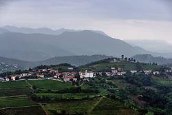Town Kojsko in Goriska Brda during 4th Stage of 26th Tour of Slovenia 2019 cycling race between Nova Gorica and Ajdovscina (153,9 km), on June 22, 2019 in Slovenia. Photo by Matic Klansek Velej / Sportida