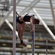 Canadian pole vaulter Shawn Barber during the Sainsbury's Anniversary Games at the Queen Elizabeth II Olympic Park, London, United Kingdom on 25 July 2015. Photo by Mark Davies.