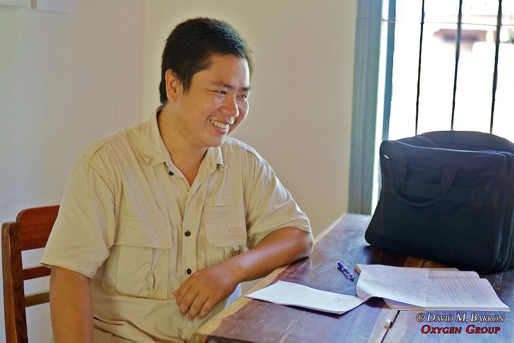 Teacher In Class, Lincoln-Sudbury Memorial School
