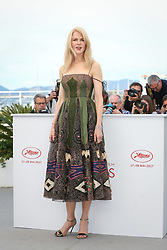 Actress Nicole Kidman attends the 'The Killing Of A Sacred Deer' photocall during the 70th annual Cannes Film Festival at Palais des Festivals on May 22, 2017 in Cannes, France. Photo by Shootpix/ABACAPRESS.COM    593706_015 Cannes France