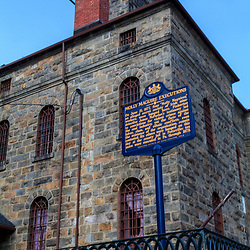 Now a museum, the Carbon County Jail in Jim Thorpe, Pennsylvania is where the Molly Maguire Executions were held.