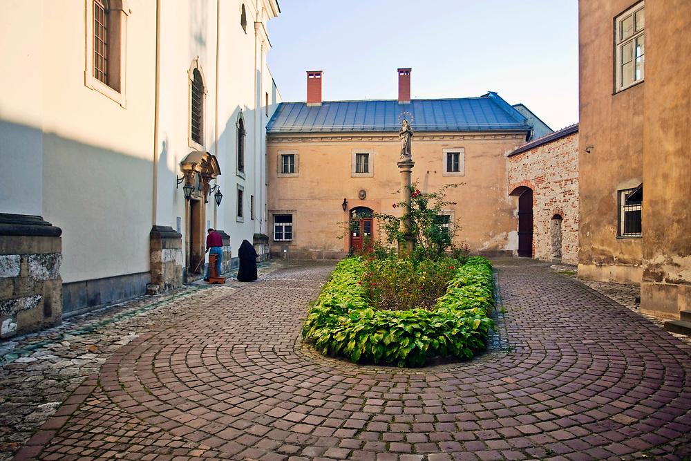 "Kościół Matki Boskiej Śnieżnej ""Na Gródku"" w Krakowie, Polska<br /> Church of St. Mary of the Snow in Cracow, Poland"