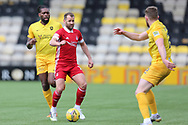 Aberdeen's Niall McGinn (10) during the Scottish Premiership match between Livingston and Aberdeen at Tony Macaroni Arena, Livingstone, Scotland on 1 May 2021.