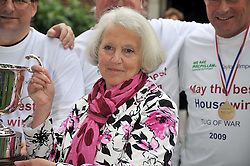 BARONESS HAYMAN the Lord Speaker at the annual House of Lords vs House of Commons Tug of War in aid of Macmillan Cancer Support held in College Garden, Westminster Abbey, London on 9th June 2009.