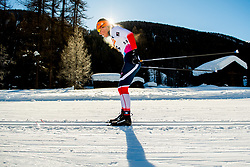 January 31, 2018 - Goms, SWITZERLAND - 180131 Tiril Udnes Weng of Norway competes in the women's 10km classic technique interval start during the FIS U23 Cross-Country World Ski Championships on January 31, 2018 in Obergoms..Photo: Vegard Wivestad GrÂ¿tt / BILDBYRN / kod VG / 170090 (Credit Image: © Vegard Wivestad Gr¯Tt/Bildbyran via ZUMA Press)