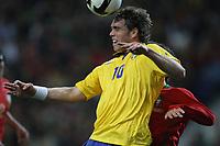20090328: PORTO, PORTUGAL - Portugal vs Sweden: World Cup 2010 Qualifying Match. In picture: elmander . PHOTO: Ricardo Estudante/CITYFILES