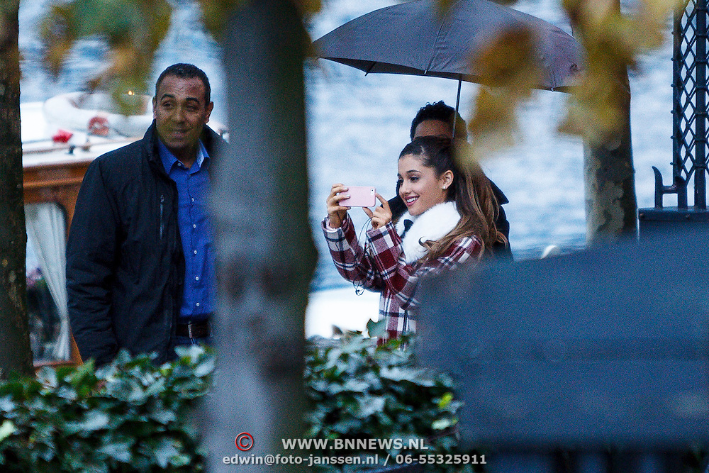 NLD/Amsterdam/20131109 - Ariana Grande leaving the hotel for the MTV EMA 2013