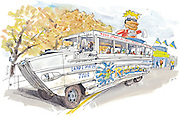 Ride the Ducks land and water tours.<br /> Gabriel Campanario / The Seattle Times
