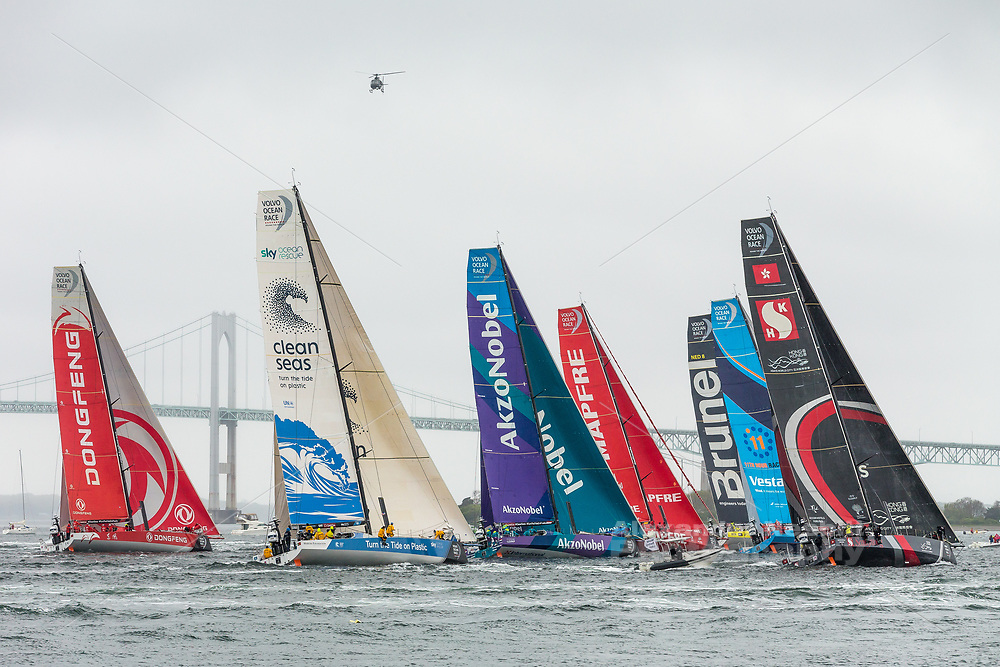 The Newport Volvo Race stop over provides fantastic spectator viewing for the in port race.
