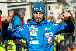 Robert Kranjec (SLO) posing during the Qualification Round of the Ski Flying Hill Individual Competition at Day 1 of FIS Ski Jumping World Cup Final 2019, on March 21, 2019 in Planica, Slovenia. Photo by Vid Ponikvar / Sportida