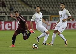 August 11, 2017 - Turin, Italy - Alejandro Berenguer during Tim Cup 2017/2018 match between Torino v Trapani, in Turin, on August 11, 2017. FC Torino win 7-1 the math. (Credit Image: © Loris Roselli/NurPhoto via ZUMA Press)