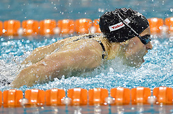 02-04-2015 NED: Swim Cup, Eindhoven<br /> Nastja Govejsek SLO 100m butterfly<br /> Photo by Ronald Hoogendoorn / Sportida