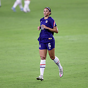 ORLANDO, FL - JANUARY 22:  Lynn Williams #6 of United States is seen against Columbia at Exploria Stadium on January 22, 2021 in Orlando, Florida. (Photo by Alex Menendez/Getty Images) *** Local Caption *** Lynn Williams